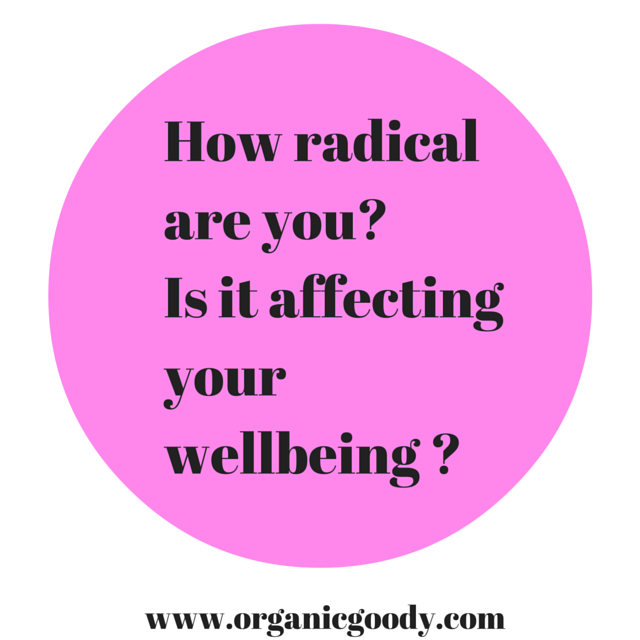 How radical are you? Title graphic
