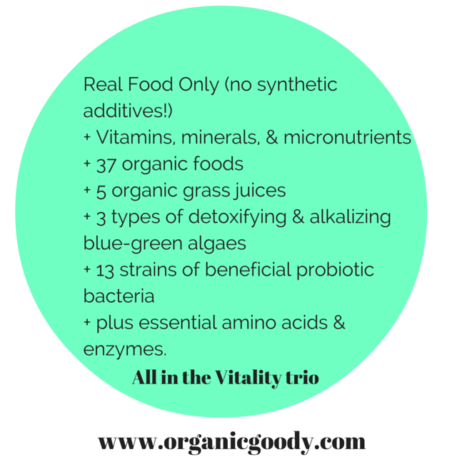 Vitality trio real food