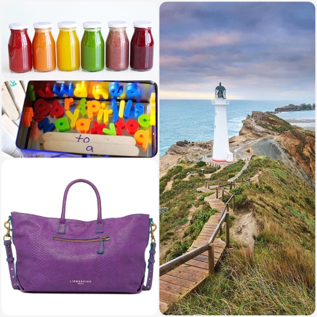 Fab Friday - juice, travel game, carry on bag, New Zealand travel destinations