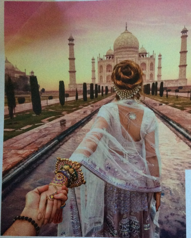 Follow me to - Taj Mahal
