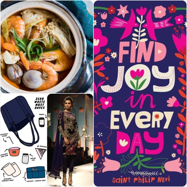 Fab Friday - japanese clay pot cooking, zero waste must haves, Indian fashion, find joy in every day