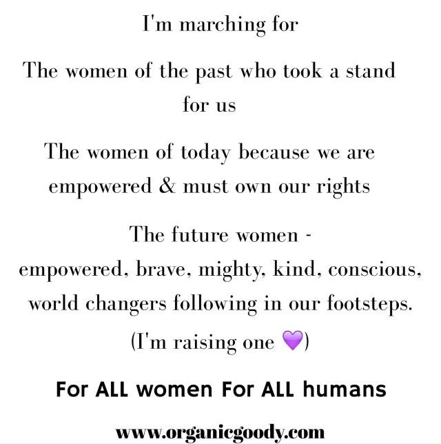 Women's rights human rights why I march
