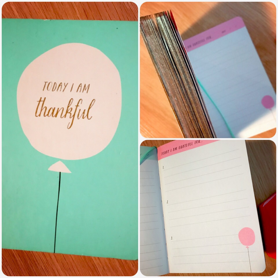 My Kikki K gratitude journal almost full