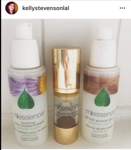 Facial serum line up
