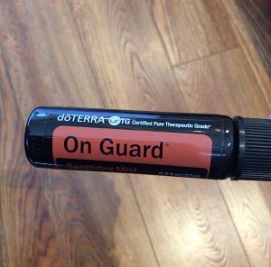 Onguard Sanitizing mist - hand sanitiser spray perfect size for handbag. Natural hand sanitiser