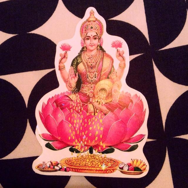 Laxmi the Hindu goddess of abundance