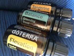 Calm and happy diffuser blend. Elevation, balance, tangerine essential oils