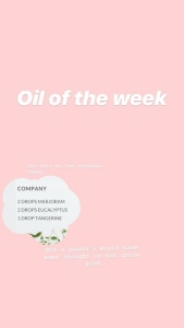 Diffuser Blend with Marjoram Essential Oil.  Company diffuser blend. Ways to use Marjoram Essential oil. Kelly Stevenson-Lal. www.organicgoody.com