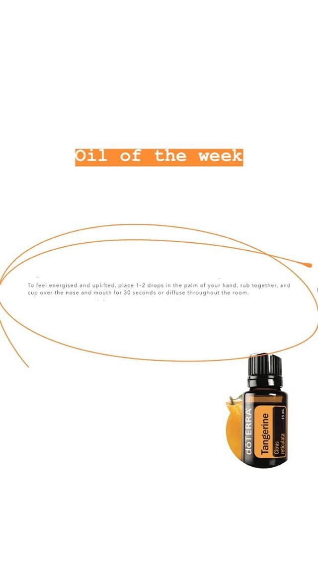Tangerine essential oil aromatic uses. Ways to use doTERRA tangerine oil.